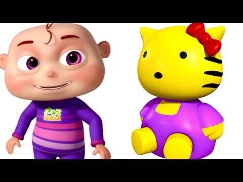 Five Little Babies Playing With Toys   Five Little Babies Collection   Zool Babies Nursery Rhymes