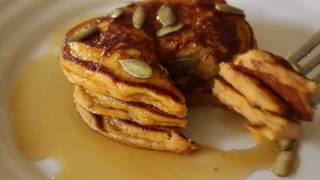 Pumpkin Pancakes Recipe - Halloween Recipe Idea: Pumpkin Pancakes!