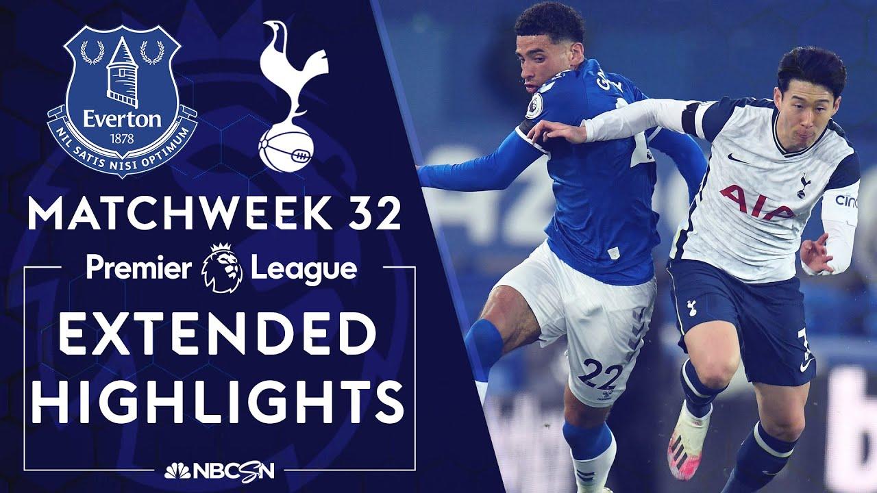 Download Everton v. Tottenham | PREMIER LEAGUE HIGHLIGHTS | 4/16/2021 | NBC Sports