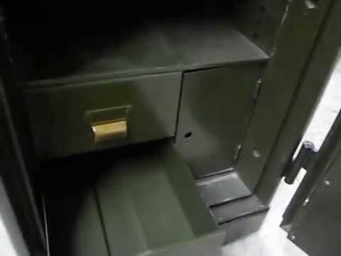Diebold safe restoration - Outlaw Safe Company