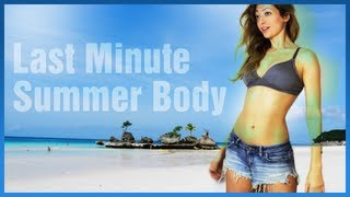 ♥ Last Minute SUMMER BODY ♥ Tutorial (HIIT)