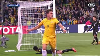 ไฮไลท์ฟุตบอลโลกรอบคัดเลือก 2018 ออสเตรเลีย - ไทย บรรยายอังกฤษ