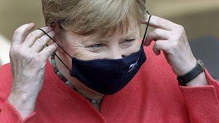 Проевропейское выступление Ангелы Меркель в Брюсселе  …