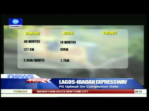 Review Of On-going Construction Work On Lagos/Ibadan Expressway