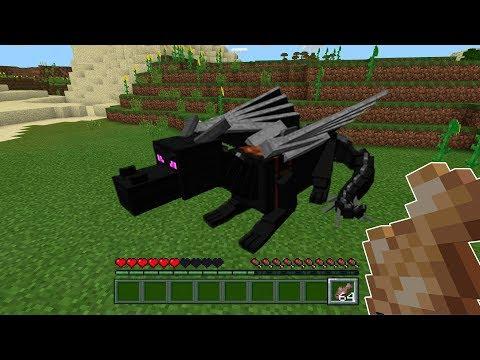 Видео майнкрафт как приручить эндер дракона