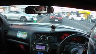 JZX100 drifting at Tsukuba 筑波サーキット本コースJZX100ドリフト thumbnail