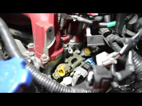 Subaru DeatschWerks Fuel Injector Install