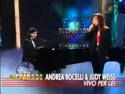 Andrea Bocelli   Judy Weiss - Vivo per lei (very rare video).mpg
