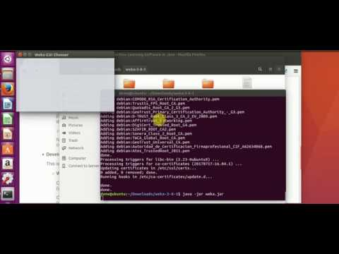 How To Install Weka   Datamining Software On Ubuntu