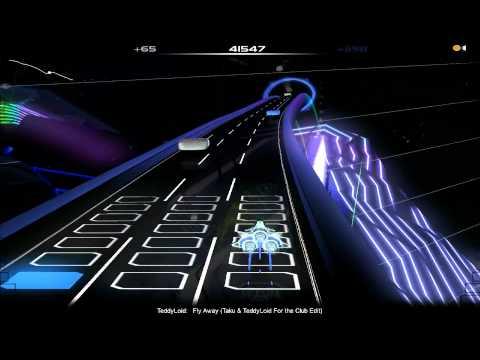 Audiosurf: TeddyLoid - Fly Away (Taku & TeddyLoid Club Edit)