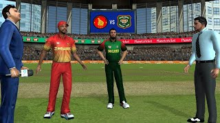 Tri-Series 4th T20  Bangladesh vs Zimbabwe Real Cricket 19 Full Match Gameplay Highlights