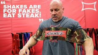 """Shakes Are For Fakes. Eat Steak"" | Stan Efferding Talks Nutrition & Performance | Pow"