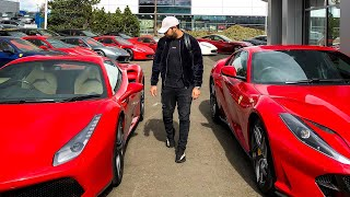 I BOUGHT 2 FERRARI'S!!! Part 1