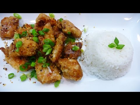 Chinese Lemon Chicken, Healthier Version, Easy, Healthy