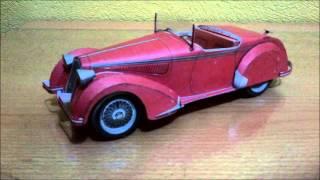 Alfa Romeo Corto Papercraft - Canon Creative Park