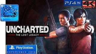 UNCHARTED: The Lost Legacy - Геймплей-Трейлер [PlayStation Experience 2016]