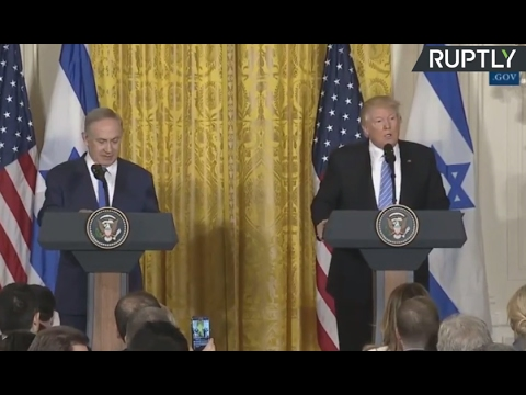 LIVE: Trump and Netanyahu joint news conference in Washington DC