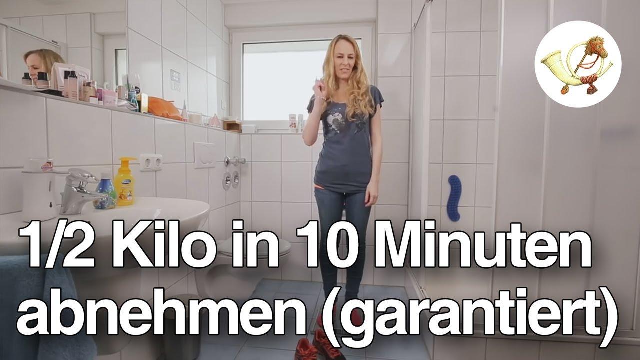 Wie man 7 Kilo in 7 Tagen verliert