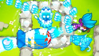 This Ice Monkey BOOST is OVERPOWERED! (Glitch in Bloons TD 6)