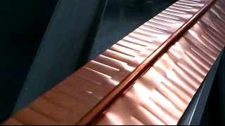 How is made a solar collector?