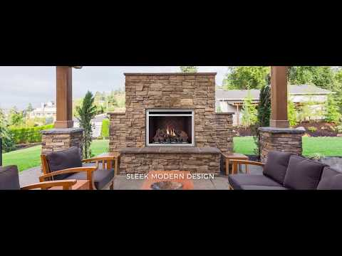 Napoleon Riverside 36 Clean Face Outdoor Fireplace