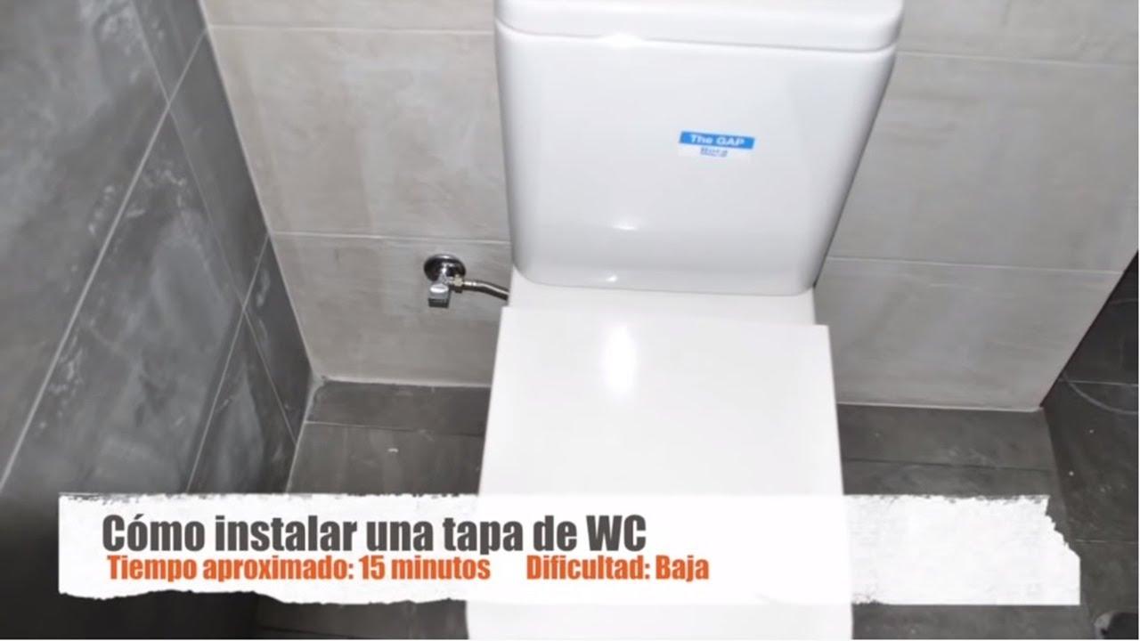 C mo instalar una tapa de inodoro roca youtube for Tapa de water
