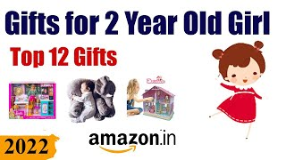 Top 12 Gifts For 2 Year Old Girl In India  2020  || Best Birthday Gift For 2 Year Old Girl