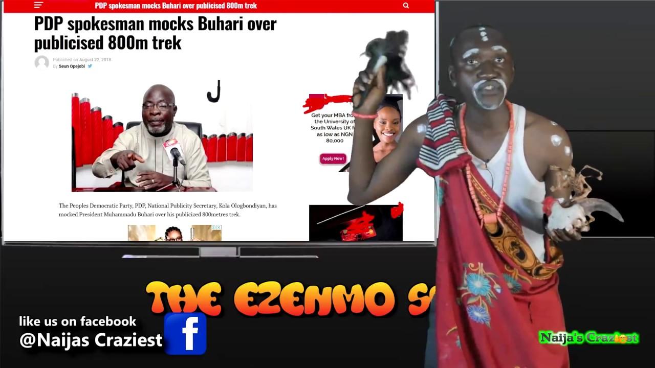 Download Tonto Dikeh French Kiss Biological Father | Buhari Takes Tramadol To Trek 800m -The Ezenmo Show Ep22