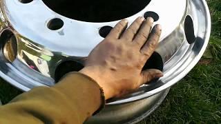Leštění ALU kola z náklaďáku 😉