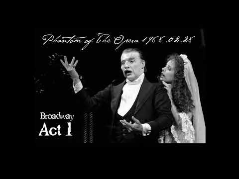 Michael Crawford, Sarah Brightman - Phantom of The Opera - 1988 Broadway