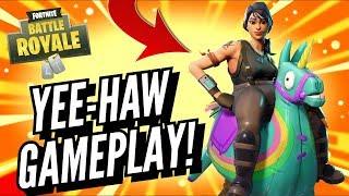 YEE-HAW Skin Gameplay! In Fortnite Battle Royale