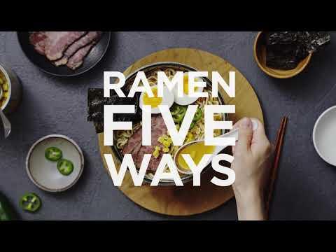 Instant Ramen Noodle Soup Recipes 5 Different Ways