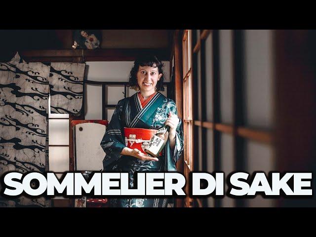 SOMMELIER DI SAKE IN GIAPPONE - ITALIANI IN GIAPPONE Ep. 1