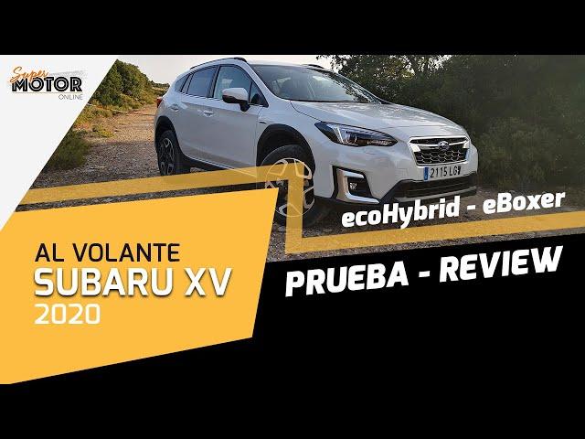 Al volante del Subaru XV ecoHybrid 2020 / Review Subaru XV 2020 / SuperMotor.Online / T5 - E19