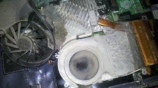 Как почистить НОУТБУК от пыли, заменить термопасту.(Подписаться на мой канал http://goo.gl/N6xHXi Видео для тех, кто хочет самостоятельно разобрать ноутбук для замены..., 2013-10-31T07:28:42.000Z)