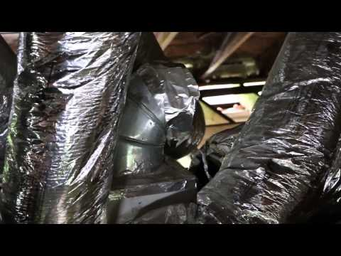 Bad HVAC Install   Green on Gift
