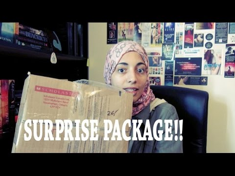 Surprise Scholastic Package Unboxing