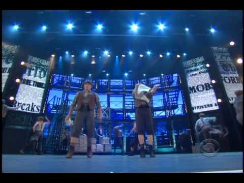 Newsies Performance at 2012 Tony Awards