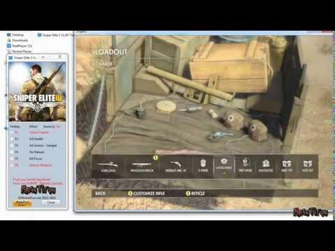 Sniper Elite 3 V1.01 Trainer +6 ,Unlock Items