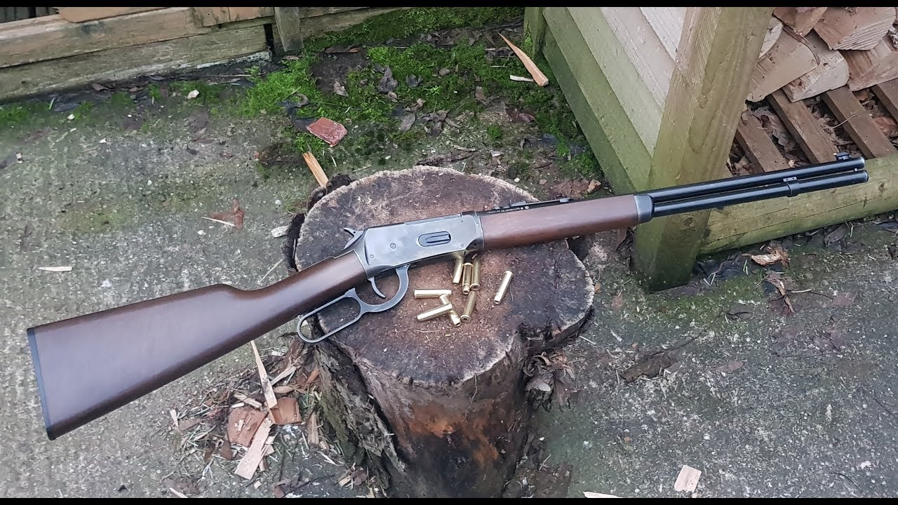 The ULTIMATE BackYard Plinker Part 1 - Umarex Legends Cowboy BB Rifle -  SHELL EJECTING