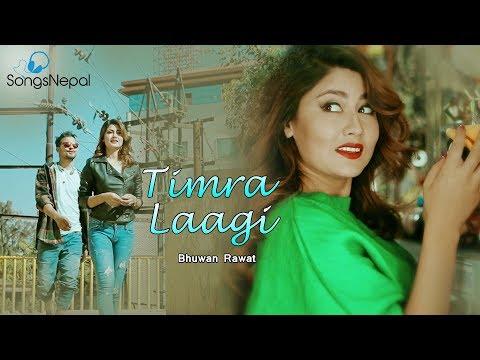 Timra Laagi - Bhuwan Rawat (Kshitiz) | New Nepali Pop Song 2017 / 2074