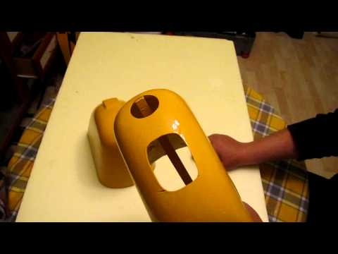 Kalıp Silikonuyla Cowling Yapımı-How to make a cowling with mold of silicone_Part 4 of 4