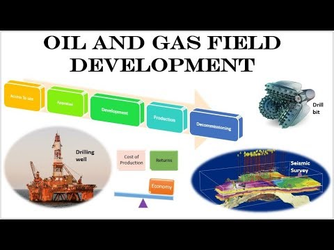 Oil and Gas Field Development Lifecycle Process