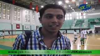 Handball : JSK (29 vs 23) SCBA .:. JSK.Tv (JSK-Kairouan) le 05-04-2014