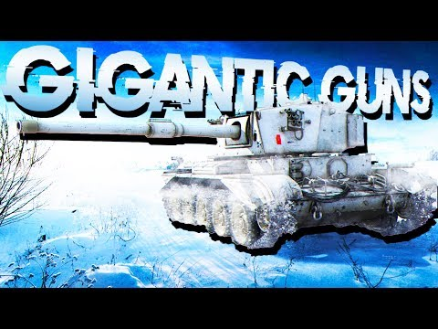 Gigantic Guns and Artillery Barrage! - World of Tanks 1.0 Gameplay