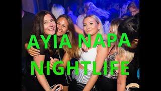 Ayia Napa NIGHTLIFE 2019