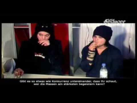 The Rasmus - SonicSeducer Interview ( Lauri Ylönen, Ville Valo, Jonne Aaron ) Part 1