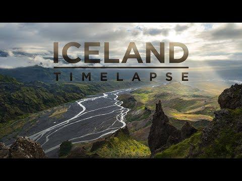 Iceland - 4K Timelapse