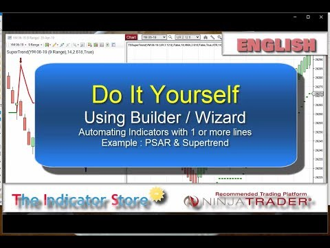 Do It Yourself – Automating PSAR & Supertrend with NinjaTrader Wizard