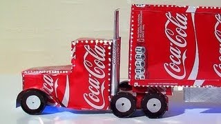 How To Make Coca Cola Truck Christmas Decoration